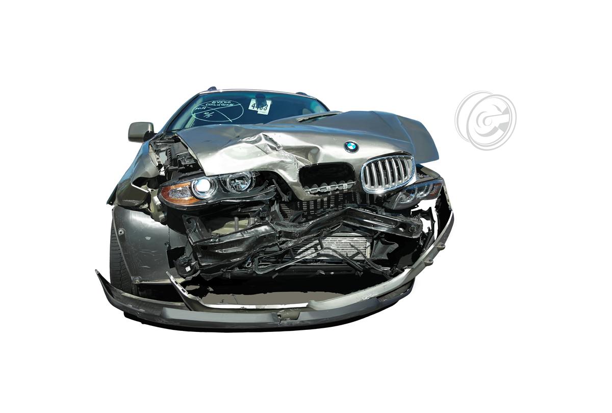 BMW batida.