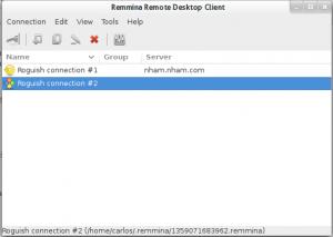 Remmina app.