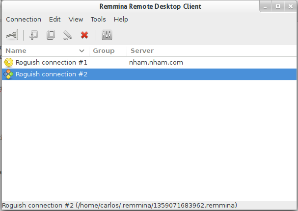 Remmina – An open solution for remote access for Linux