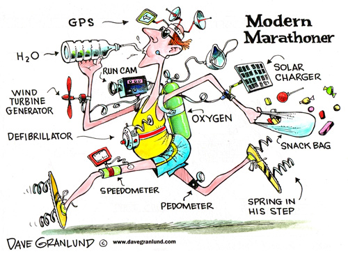 A brief overview of a modern marathoner